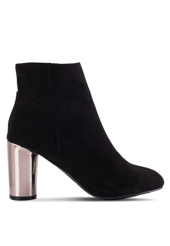Dorothy Perkins black Black Ashe Mf Heeled Boots DO816SH12YGPMY_1