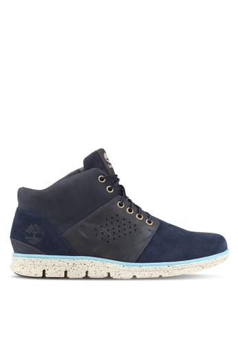 Timberland blue and navy Bradstreet Half Cab Boots TI063SH0SB8XMY_1