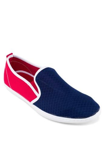 撞色透esprit hk store氣拼接樂福鞋, 鞋, 鞋