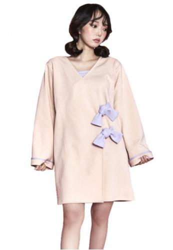 A X A multi Ribbon Wrap Dress AX230AA42CERSG_1