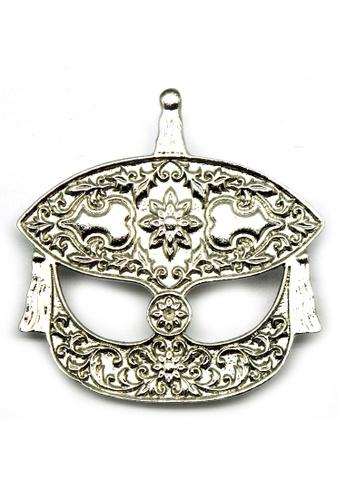 Paulini silver Brooch Wau Merak (AR) PA011AC11VSIMY_1
