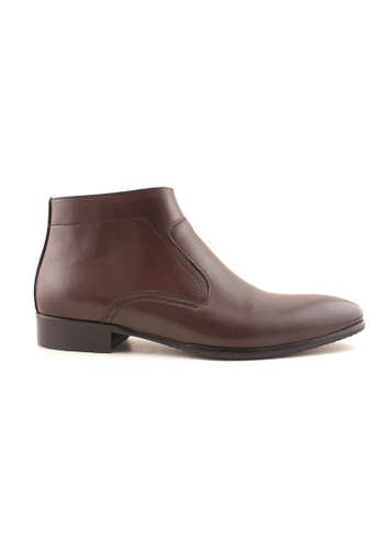 Rad Russel brown Rad Russel Slip on Boots RA654SH99MGYSG_1