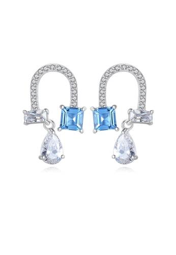 SUNRAIS silver High quality Silver S925 silver simple design earrings AD9B0AC5D3A797GS_1