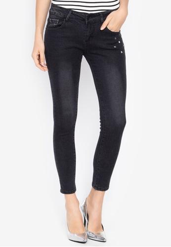 Balaynor black Dark Wash Skinny Jeans EB7EBAADFAAFF3GS_1