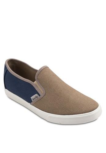 Flippy 雙色esprit outlet hk布料懶人鞋, 鞋, 鞋