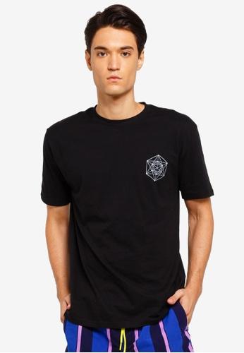 Factorie 多色 短袖印花T恤 4C90EAA75A80B4GS_1