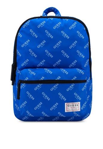 Guess blue Originals Backpack DB5DAAC1C66CD7GS_1