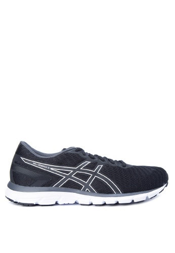 Asics black and grey Gel-Zaraca 5 Running Shoes AS445SH0JRZMPH_1