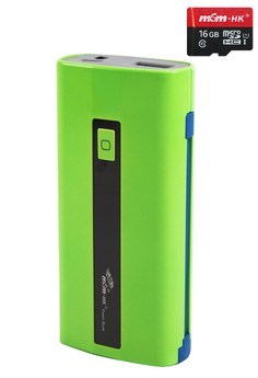 Powerbank 6000mAh With FREE 16GB MICRO-SD CARD Class10