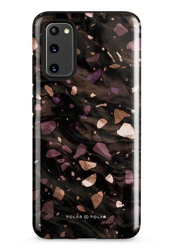 Polar Polar brown Eminence Terrazzo Gem Dual-Layer Tough Case Glossy For Samsung Galaxy S20 5G B21EEAC7F22456GS_1