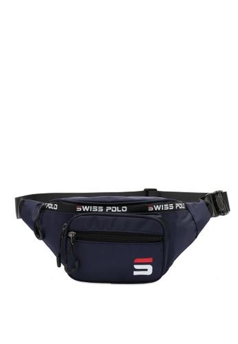 Swiss Polo blue Water Proof Waist Bag 54424ACE337744GS_1