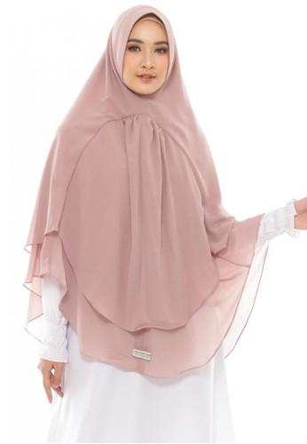 LAV INDONESIA brown Khimar Hijra AC953AAC6DD45FGS_1