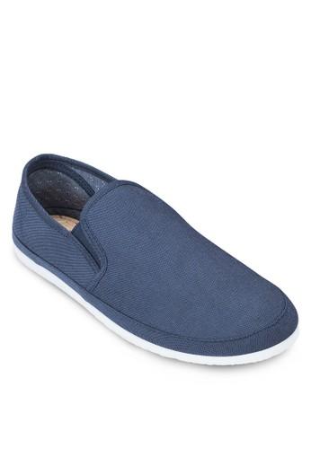 Navy Canvas Plimsolls,esprit童裝門市 鞋, 懶人鞋