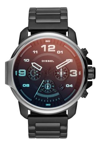 Diesel black Whiplash Chronograph Watch DI095AC0K94IPH_1