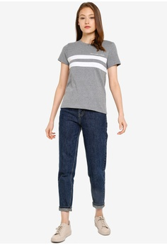 e29c9e7ae8 Abercrombie & Fitch Trend Logo Chase T-Shirt S$ 48.00. Sizes XS S M L
