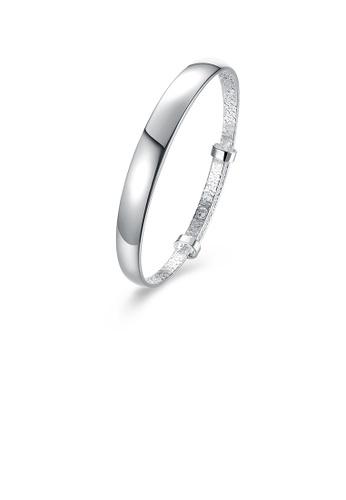 Glamorousky silver Fashion Elegant Geometric Bangle 90E9FAC50D01AAGS_1