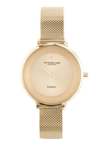 Stuhrliesprit home 台灣ng Original 589.03 Symphony 鑽石不銹鋼女錶, 錶類, 飾品配件