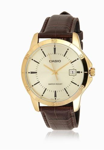 Casio brown Casio Jam Tangan MTP-V004GL-9AUDF Coklat DE89BACF9D2577GS_1