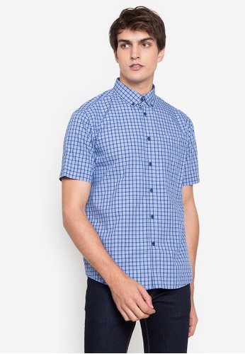 MARKS & SPENCER multi M&S Collection Pure Cotton Checked Shirt 913F9AAAF52566GS_1