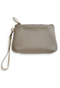 Sunday Genuine Leather Wristlet