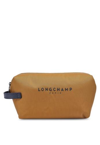 LONGCHAMP brown Cocagne Travel Pouch (zt) 4DFCFAC582B7CFGS_1