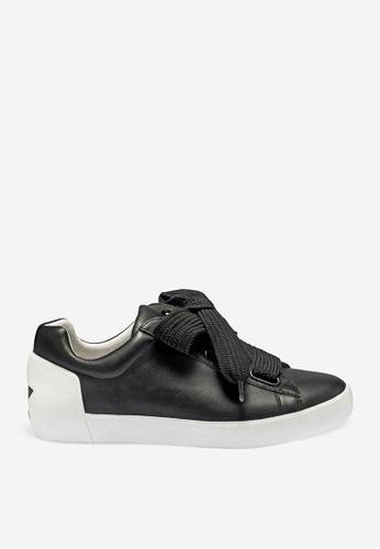 ASH 黑色 Nina - 黑色星形元素運動鞋 B63D7SH771E7CCGS_1