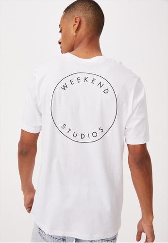 Cotton On white Tbar Street T-Shirt DEA8BAA9B6BD45GS_1