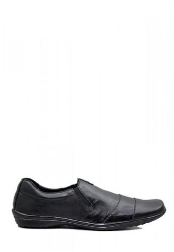 D-Island black D-Island Shoes Formal Slip On Luxury Genuine Leather Black CF1A1SHC2239CCGS_1