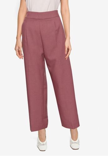 GLOBAL WORK purple Woven Pants 3CF2AAAD04717BGS_1