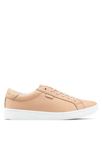 Keds brown Ace Ltt Leather Sneakers KE942SH0STEOMY_1