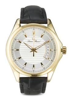 Excalibur 真皮圓框手錶