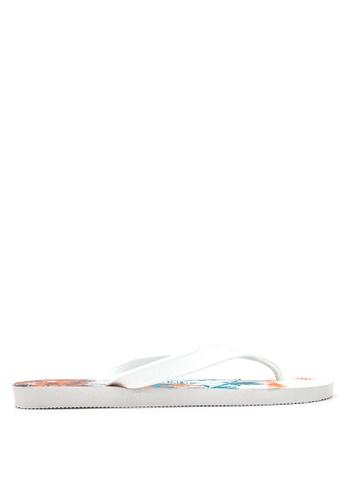 Dupe white Surfe Flip Flops DU626SH06VVTPH_1