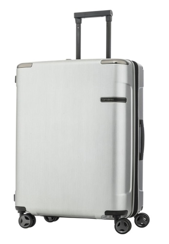Samsonite silver Samsonite Evoa Spinner 69/25 EXP Luggage D1727AC986E43CGS_1