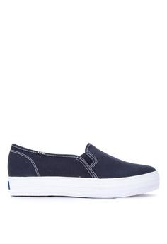 db9eea16335bf6 Keds navy Triple Decker Sneakers 8FE11SH050A01BGS 1