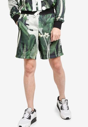 Nike black and grey Sportswear JDI Alumni Floral Shorts CF054AAEF75375GS_1
