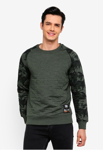 Buy Jack   Jones Jaque Crew Neck Sweatshirt Online on ZALORA Singapore aa4d1c80e5