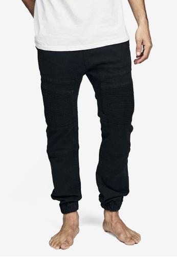 Cotton On black Slim Denim Jogger Pants BDBF7AA938CB8DGS_1