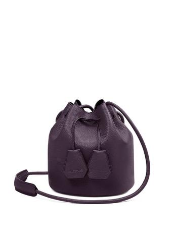RABEANCO purple RABEANCO SPACE Small Shoulder Bag - Dark Purple 5A4E1AC77E1AD2GS_1