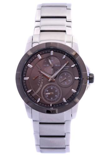 Alexandre Christie silver Alexandre Christie Jam Tangan - Silver Grey - Stainless Steel - 2503 Silver Grey AL709AC0W79EID_1