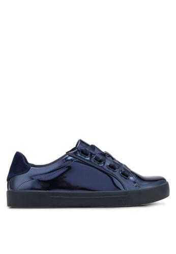 Call It Spring blue and navy Legeasien Sneakers CA512SH0SFD4MY_1