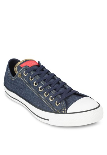 Chuck Taylor All Star Denim Ox Sneakers, 鞋, esprit 台灣官網鞋