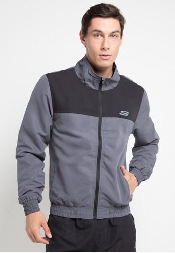 Skechers grey Basic Jacket CC7DFAA8E3C70DGS_1