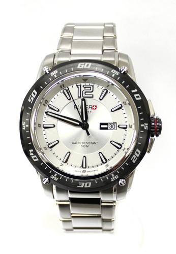 Buler silver Buler Sport Watch - Silver - Gents - Date - 3H BU689AC2VG10HK_1