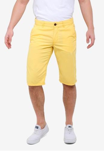 ESPRIT yellow Woven Regular Shorts 96D93AA88137F1GS_1