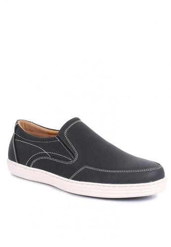 7soles black Clyde Men's Sneakers D1033SHE2684DEGS_1