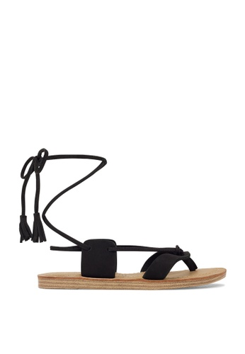 ROC Boots Australia black Betel Black Sandal RO289SH26BQRSG_1