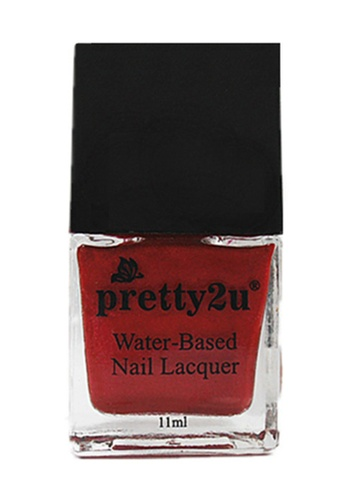 Pretty2u red Peel Off Water-Based Nail Lacquer 9 PR716BE94DGNMY_1