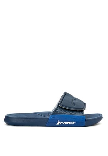 Rider blue Infinity Link Slide Ad Flip Flops RI584SH0K448PH_1