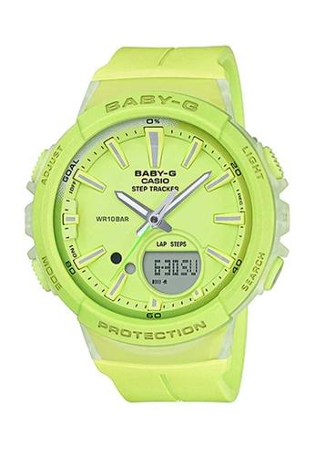 CASIO green Casio Baby-G Athleisure Green Resin Watch B9306AC4678912GS_1