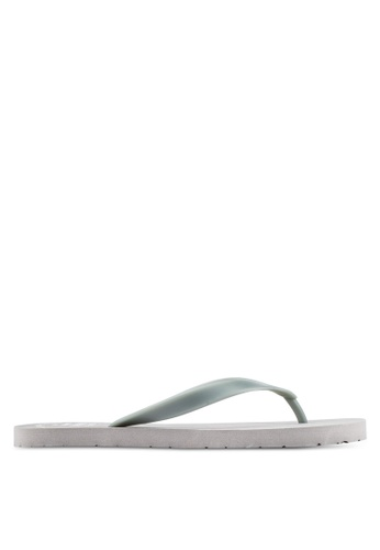JAXON grey Casual Flip Flops 88E62SH6D65CDBGS_1